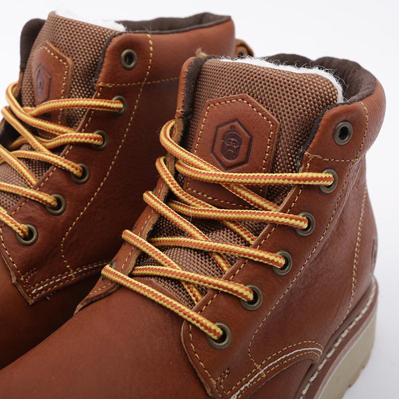 мужские коричневые  ботинки jack porter pb1 PB1-LW-M-корич - цена, описание, фото 6