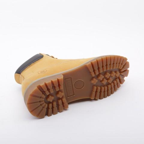 мужские коричневые  ботинки jack porter wb WB-NW-M-желт - цена, описание, фото 3