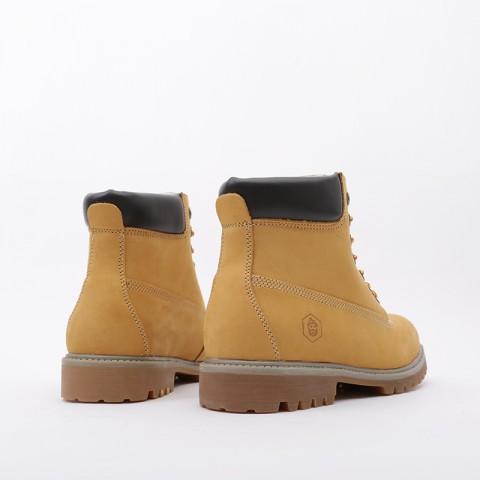 мужские коричневые  ботинки jack porter wb WB-NW-M-желт - цена, описание, фото 4