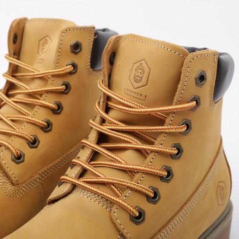 мужские коричневые  ботинки jack porter wb WB-NW-M-желт - цена, описание, фото 6