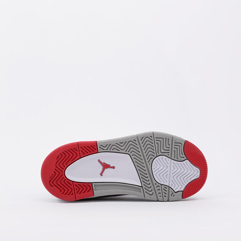 детские белые  кроссовки jordan 4 retro (ps) BQ7669-146 - цена, описание, фото 3