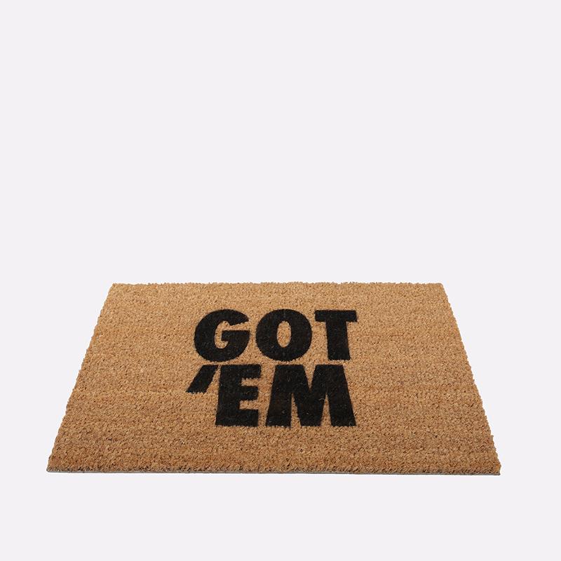 коричневый  ковёр kicks place got 'em GOT 'EM - цена, описание, фото 1
