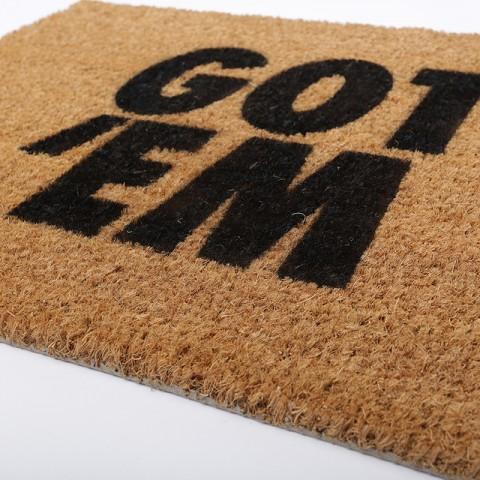 коричневый  ковёр kicks place got 'em GOT 'EM - цена, описание, фото 2