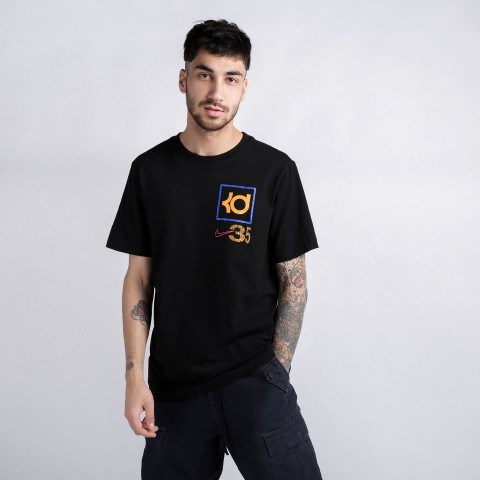 мужскую чёрную  футболка nike kd tee CD0950-010 - цена, описание, фото 2