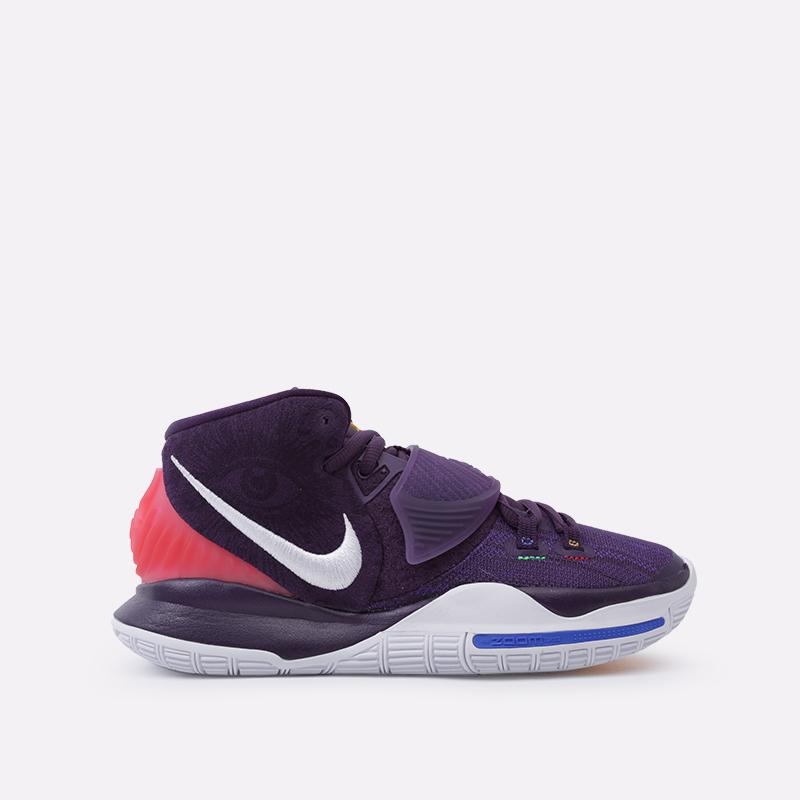 фиолетовые  кроссовки nike kyrie 6 BQ4630-500 - цена, описание, фото 1