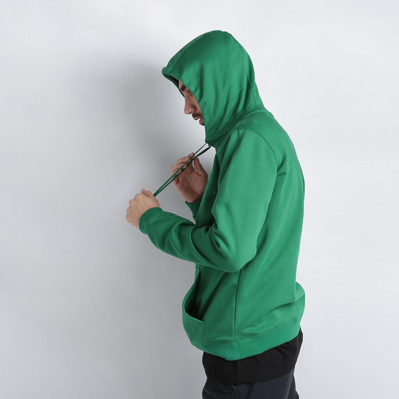 мужскую зелёную  толстовка nike celtics city logo CD3216-312 - цена, описание, фото 3