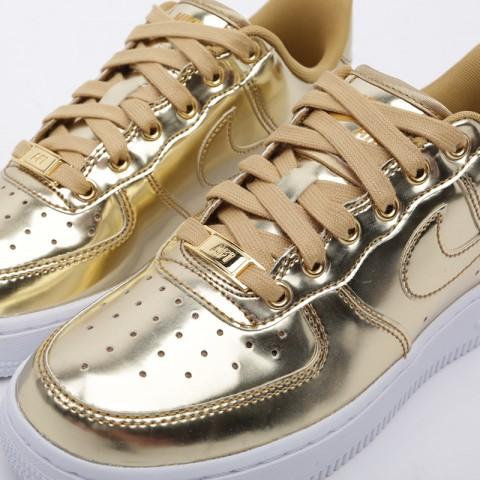 женские золотые  кроссовки nike wmns air force 1 sp CQ6566-700 - цена, описание, фото 6
