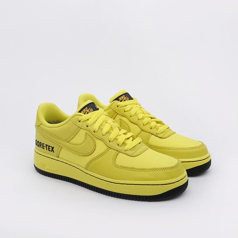 мужские жёлтые  кроссовки nike air force 1 gtx CK2630-701 - цена, описание, фото 2