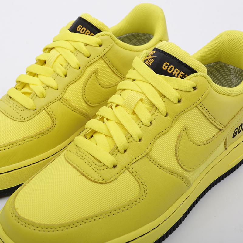 мужские жёлтые  кроссовки nike air force 1 gtx CK2630-701 - цена, описание, фото 5