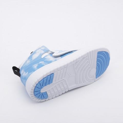 детские голубые  кроссовки jordan sky 1 fearless (ps) CT2477-400 - цена, описание, фото 3