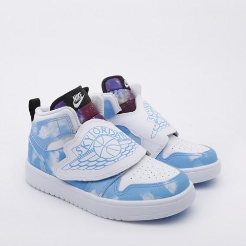 детские голубые  кроссовки jordan sky 1 fearless (ps) CT2477-400 - цена, описание, фото 2