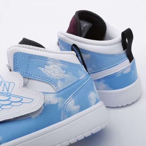 детские голубые  кроссовки jordan sky 1 fearless (ps) CT2477-400 - цена, описание, фото 6