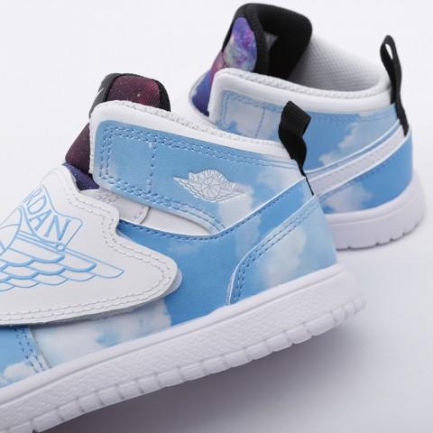 детские голубые  кроссовки jordan sky 1 fearless (td) CT2478-400 - цена, описание, фото 6