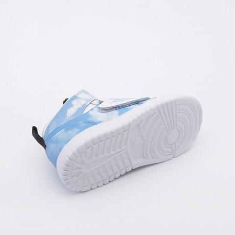 детские голубые  кроссовки jordan sky 1 fearless (td) CT2478-400 - цена, описание, фото 3