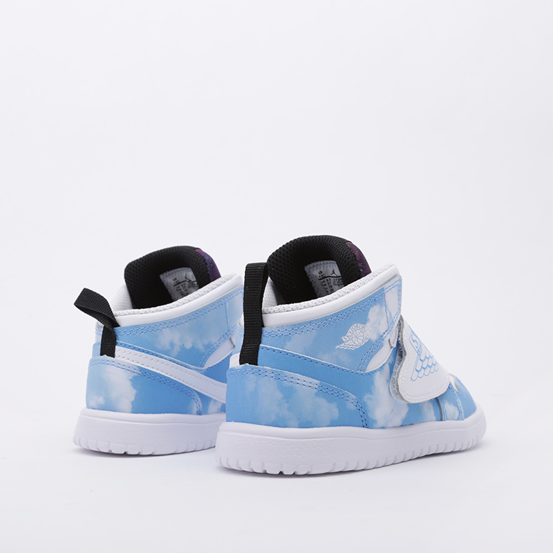 детские голубые  кроссовки jordan sky 1 fearless (td) CT2478-400 - цена, описание, фото 4