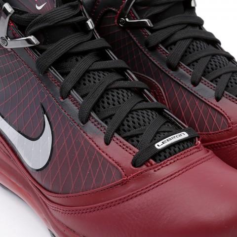 мужские бордовые  кроссовки nike lebron vii qs CU5133-600 - цена, описание, фото 5
