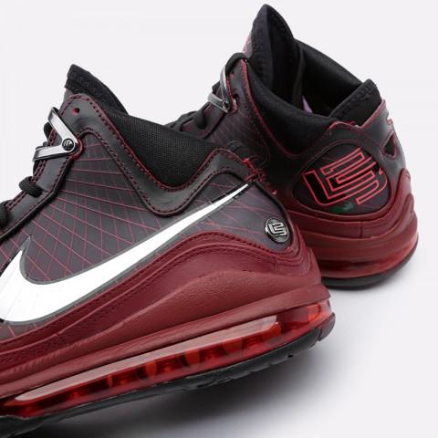 мужские бордовые  кроссовки nike lebron vii qs CU5133-600 - цена, описание, фото 6