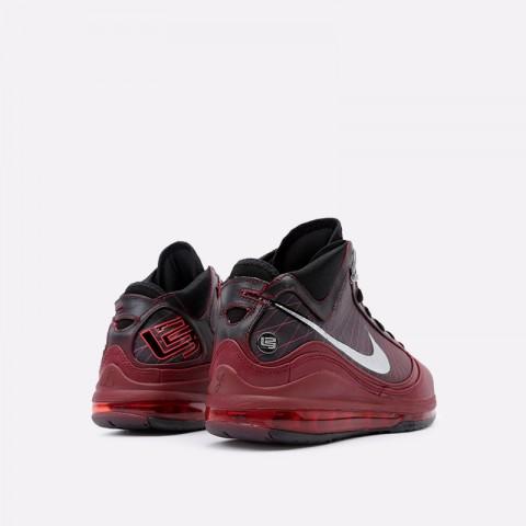 мужские бордовые  кроссовки nike lebron vii qs CU5133-600 - цена, описание, фото 4