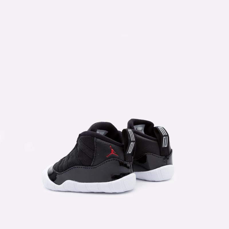 детские чёрные  кроссовки jordan 11 crib bootie CI6165-061 - цена, описание, фото 4