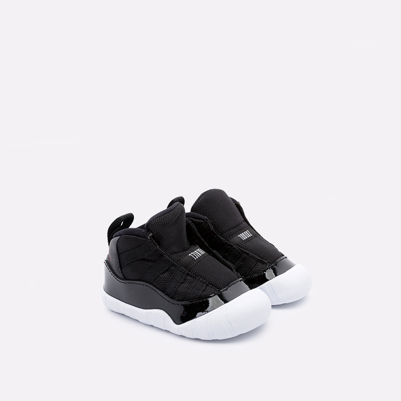 детские чёрные  кроссовки jordan 11 crib bootie CI6165-061 - цена, описание, фото 2