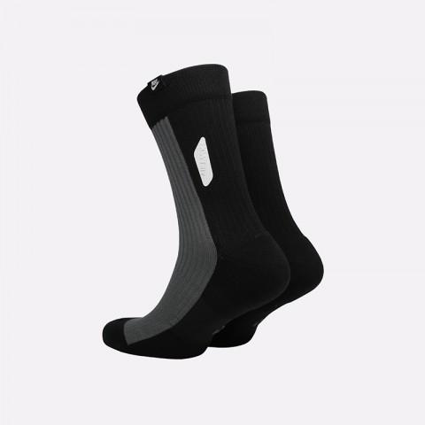 мужские чёрные  носки nike airmax crew SK0005-010 - цена, описание, фото 2