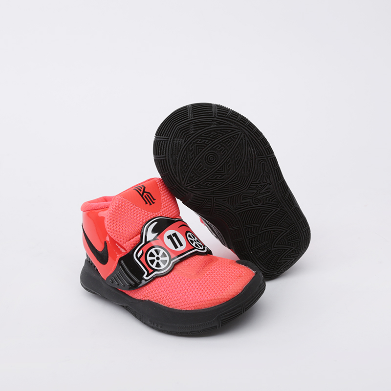 детские оранжевые  кроссовки nike kyrie 6 auto (tdv) CK0616-600 - цена, описание, фото 5