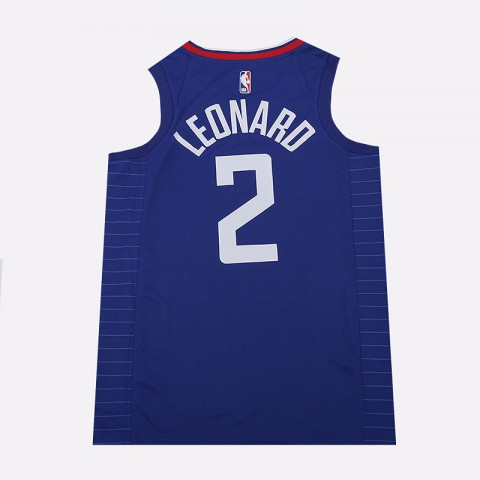мужскую синюю  майку nike kawhi leonard clippers icon edition nba swingman 864481-406 - цена, описание, фото 3