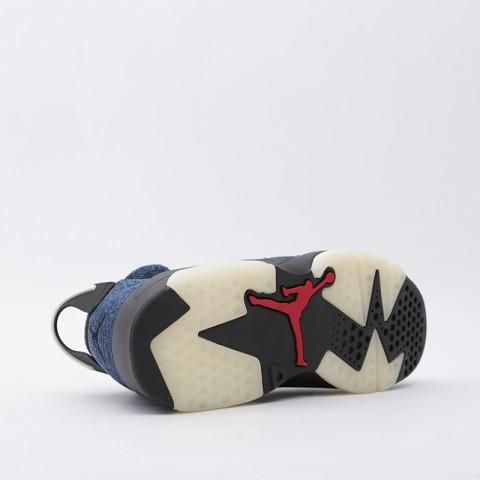 мужские синие  кроссовки jordan 6 retro CT5350-401 - цена, описание, фото 3