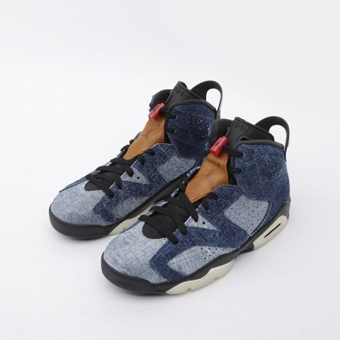 мужские синие  кроссовки jordan 6 retro CT5350-401 - цена, описание, фото 4