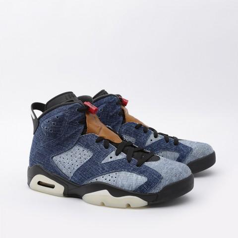 мужские синие  кроссовки jordan 6 retro CT5350-401 - цена, описание, фото 1