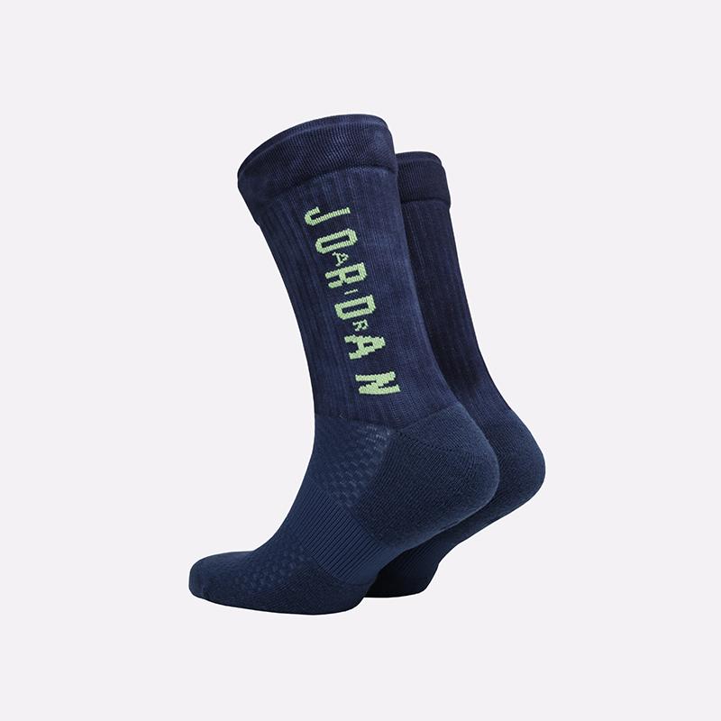 мужские синие  носки jordan legacy crew SK0028-469 - цена, описание, фото 2