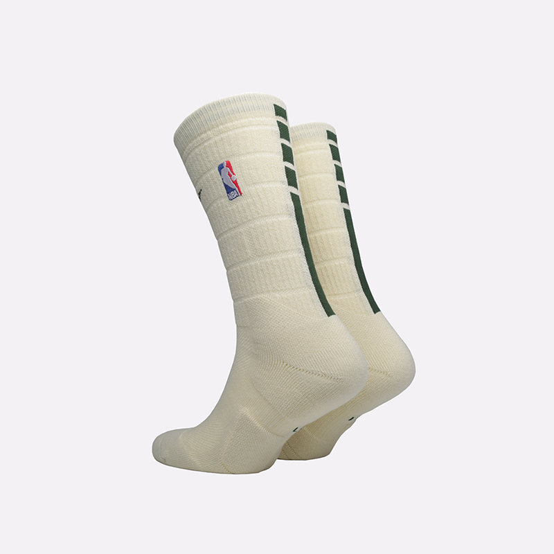мужские бежевые  носки nike elite crew SX7882-280 - цена, описание, фото 2