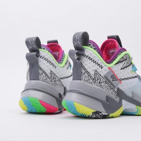 женские белые  кроссовки jordan why not zero.3 (gs) CD5804-100 - цена, описание, фото 4