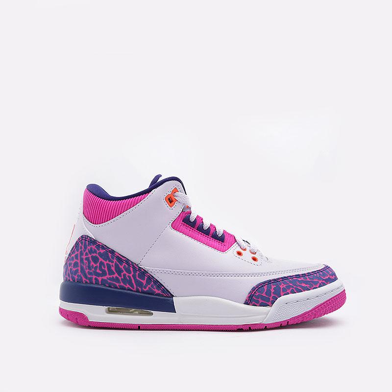 Кроссовки Jordan 3 Retro GS фото