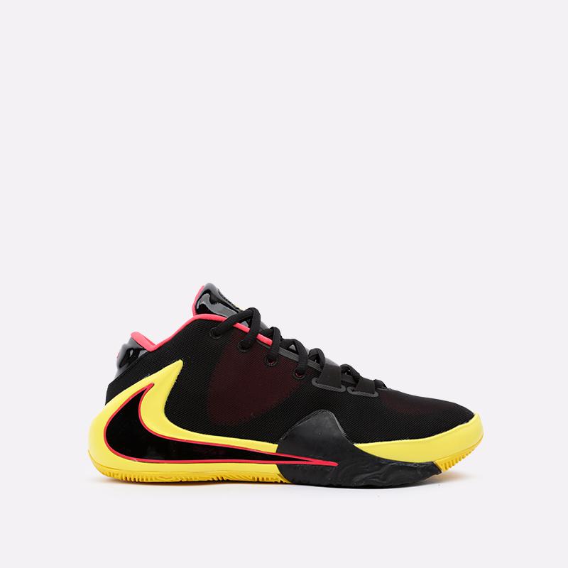 мужские чёрные  кроссовки nike zoom freak 1 BQ5422-003 - цена, описание, фото 1