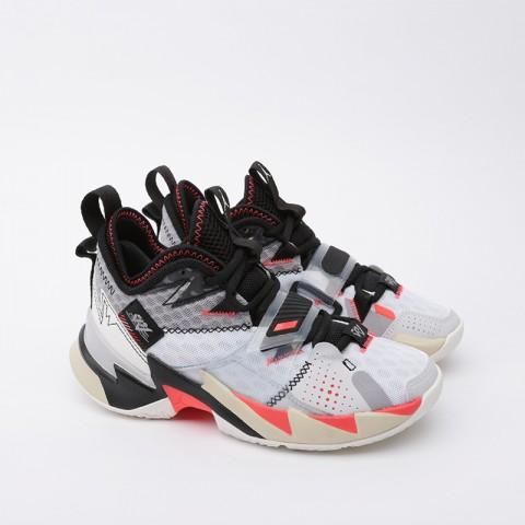 женские белые  кроссовки jordan why not zero.3 (gs) CD5804-101 - цена, описание, фото 2