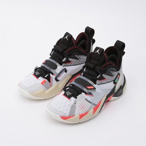 женские белые  кроссовки jordan why not zero.3 (gs) CD5804-101 - цена, описание, фото 5