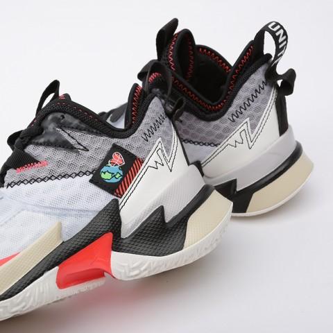 женские белые  кроссовки jordan why not zero.3 (gs) CD5804-101 - цена, описание, фото 7