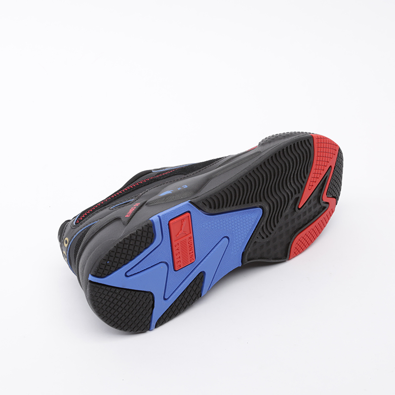 мужские чёрные  кроссовки puma rs-x3 sonic black 37342901 - цена, описание, фото 3