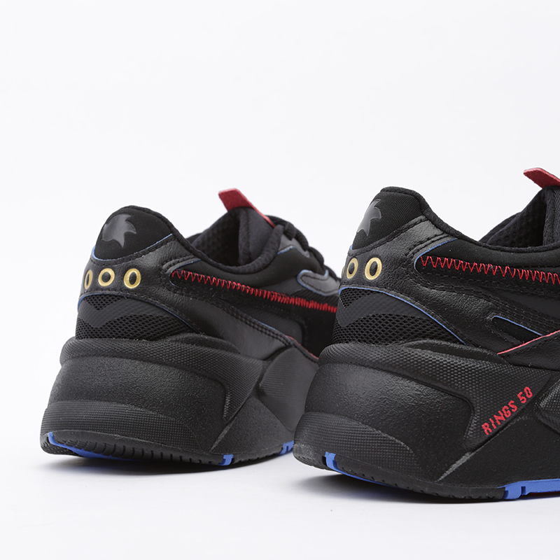 мужские чёрные  кроссовки puma rs-x3 sonic black 37342901 - цена, описание, фото 4