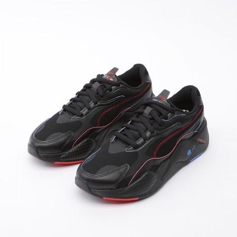 мужские чёрные  кроссовки puma rs-x3 sonic black 37342901 - цена, описание, фото 5