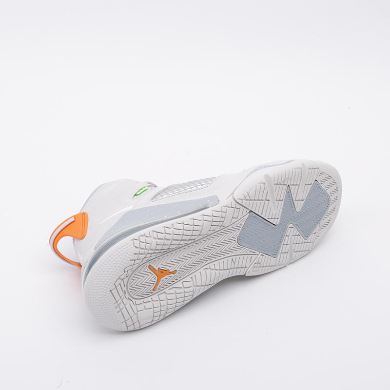 мужские серые  кроссовки jordan mars 270 CT9132-002 - цена, описание, фото 3