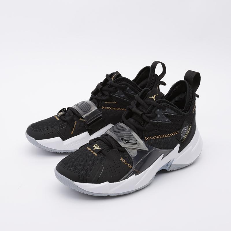 мужские чёрные  кроссовки jordan why not zero.3 CD3003-001 - цена, описание, фото 4