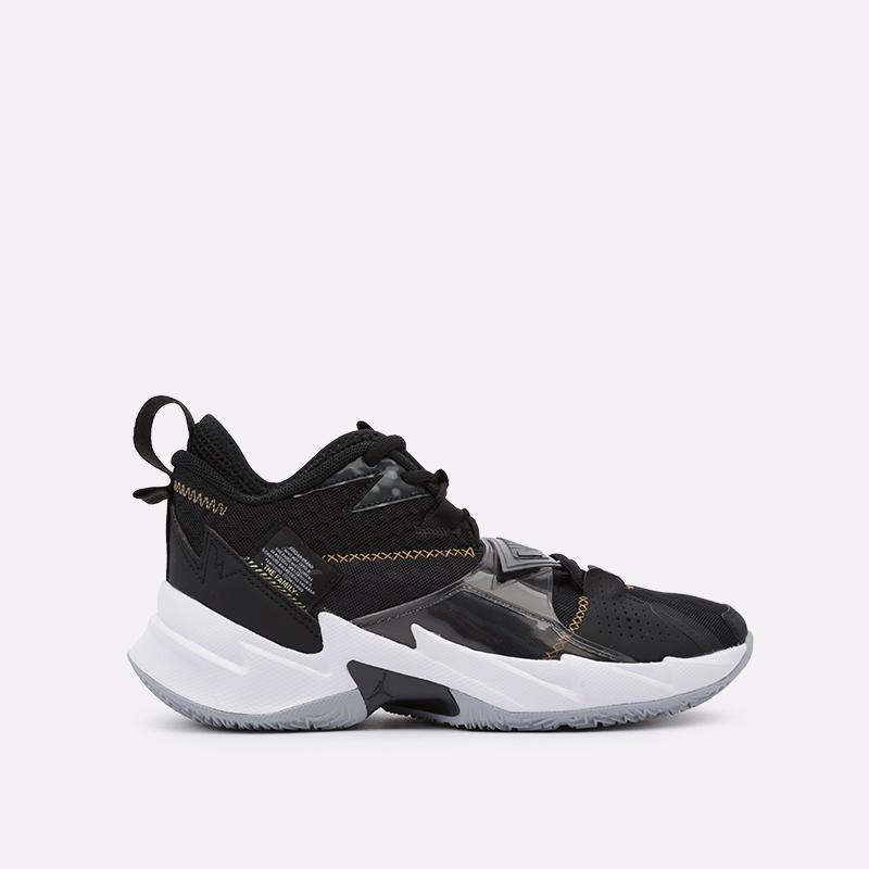 мужские чёрные  кроссовки jordan why not zero.3 CD3003-001 - цена, описание, фото 1