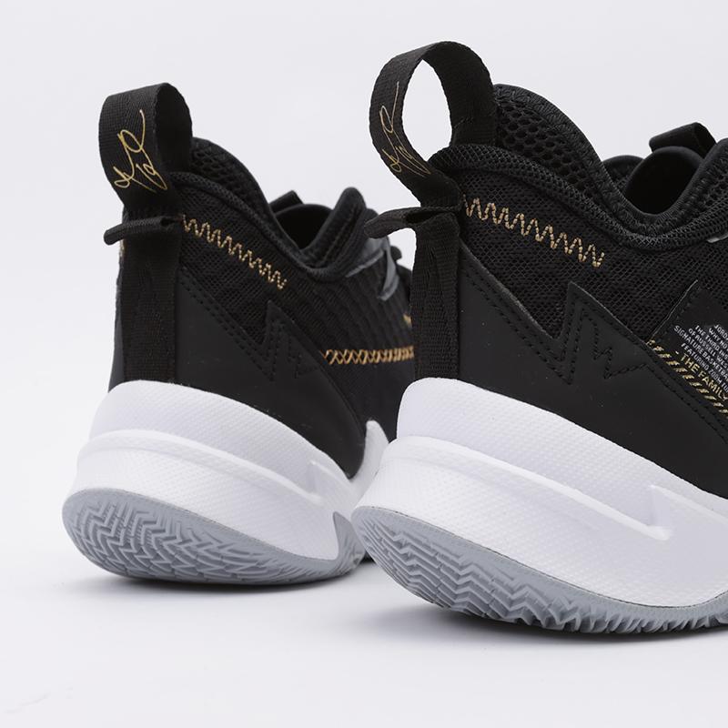 мужские чёрные  кроссовки jordan why not zero.3 CD3003-001 - цена, описание, фото 5