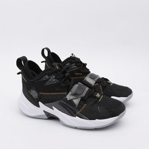 мужские чёрные  кроссовки jordan why not zero.3 CD3003-001 - цена, описание, фото 2