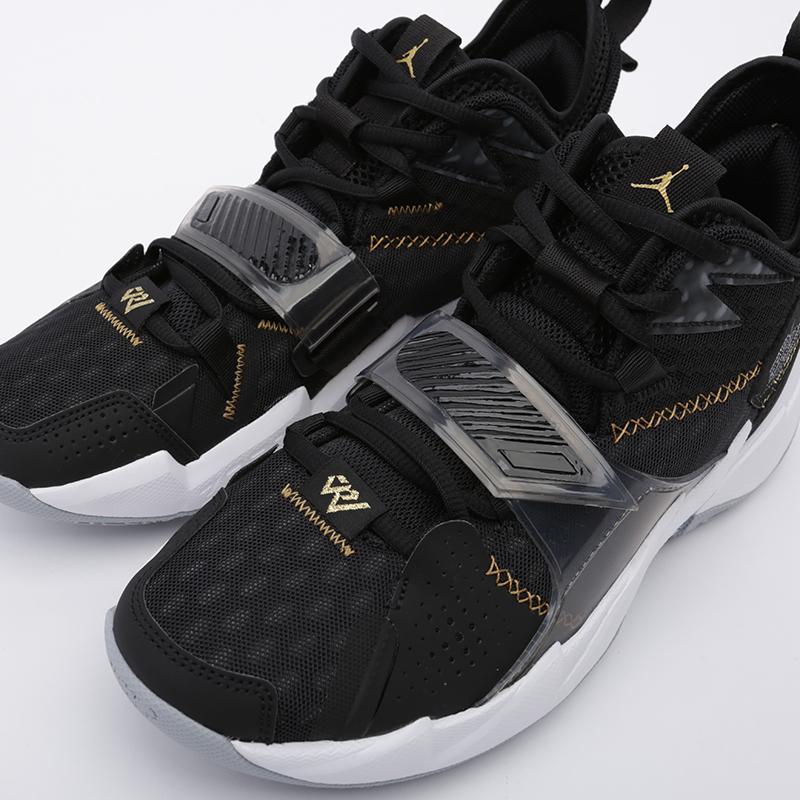 мужские чёрные  кроссовки jordan why not zero.3 CD3003-001 - цена, описание, фото 6