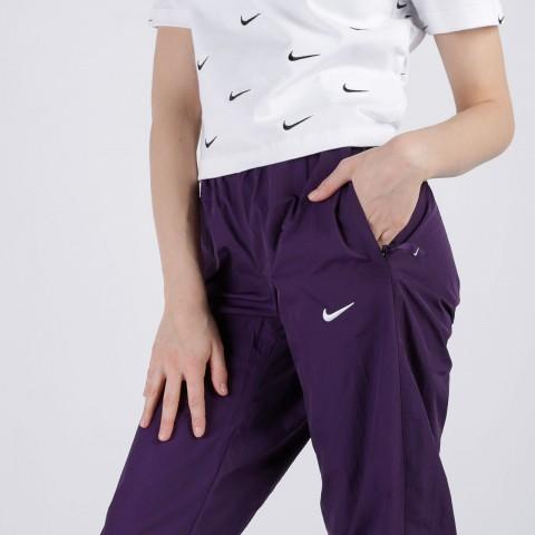 женские фиолетовые  брюки nike track pant purple CQ4003-525 - цена, описание, фото 5