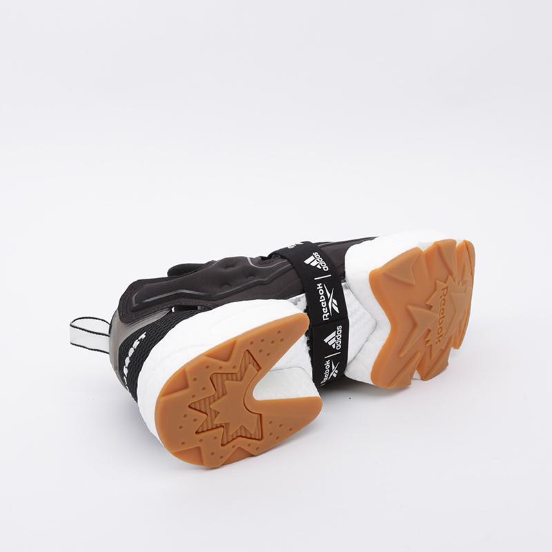 чёрные  кроссовки reebok instapump fury boost FU9239 - цена, описание, фото 3