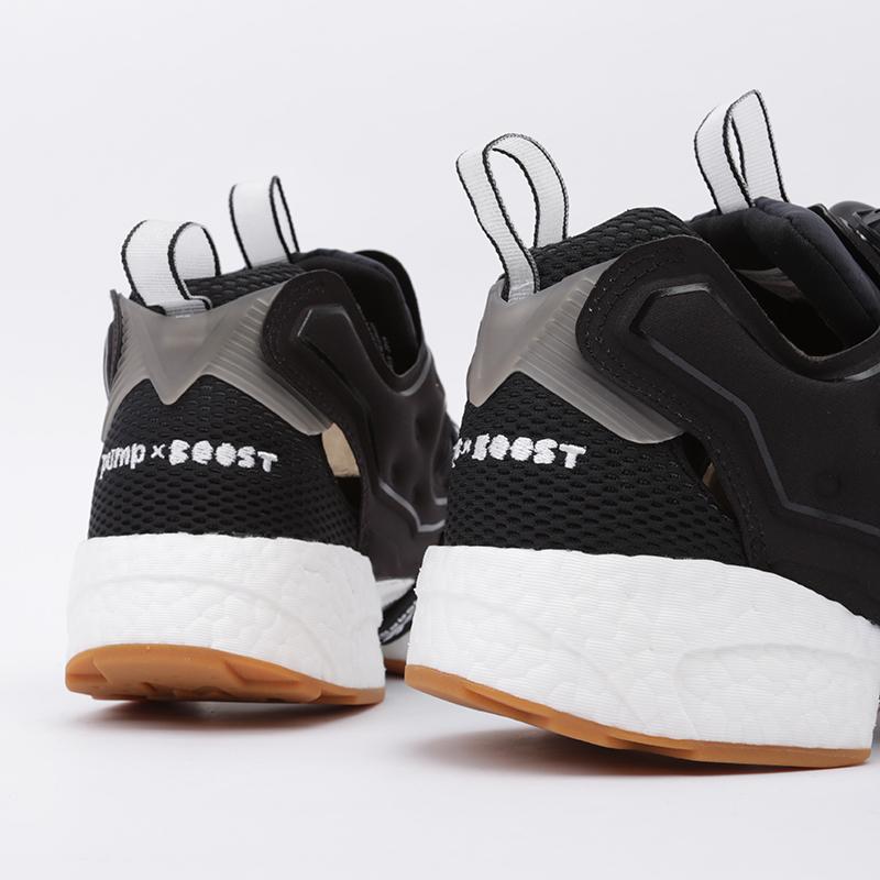 чёрные  кроссовки reebok instapump fury boost FU9239 - цена, описание, фото 5